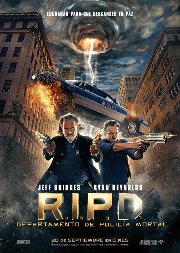 RIPD. Departamento de Policia Mortal. Poster