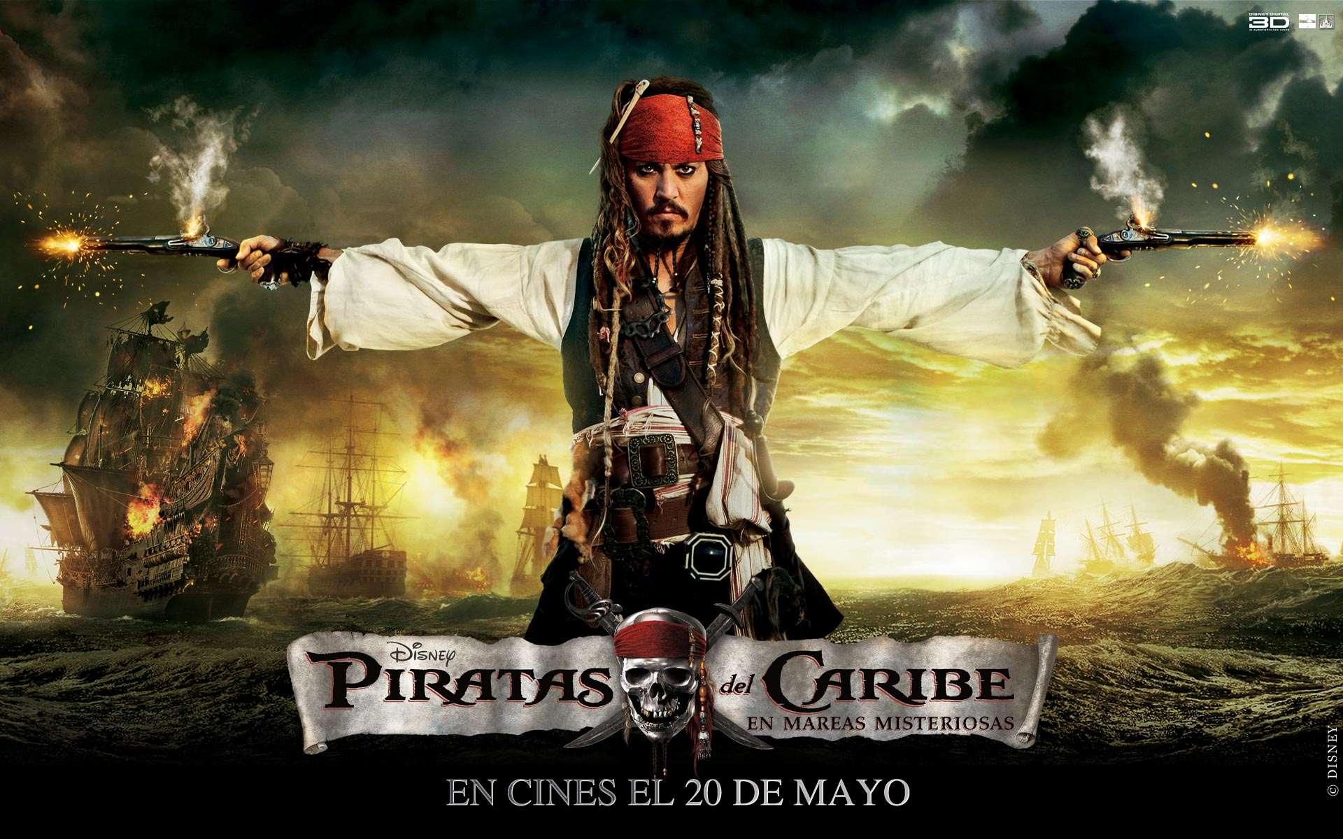 Wallpaper Piratas del Caribe