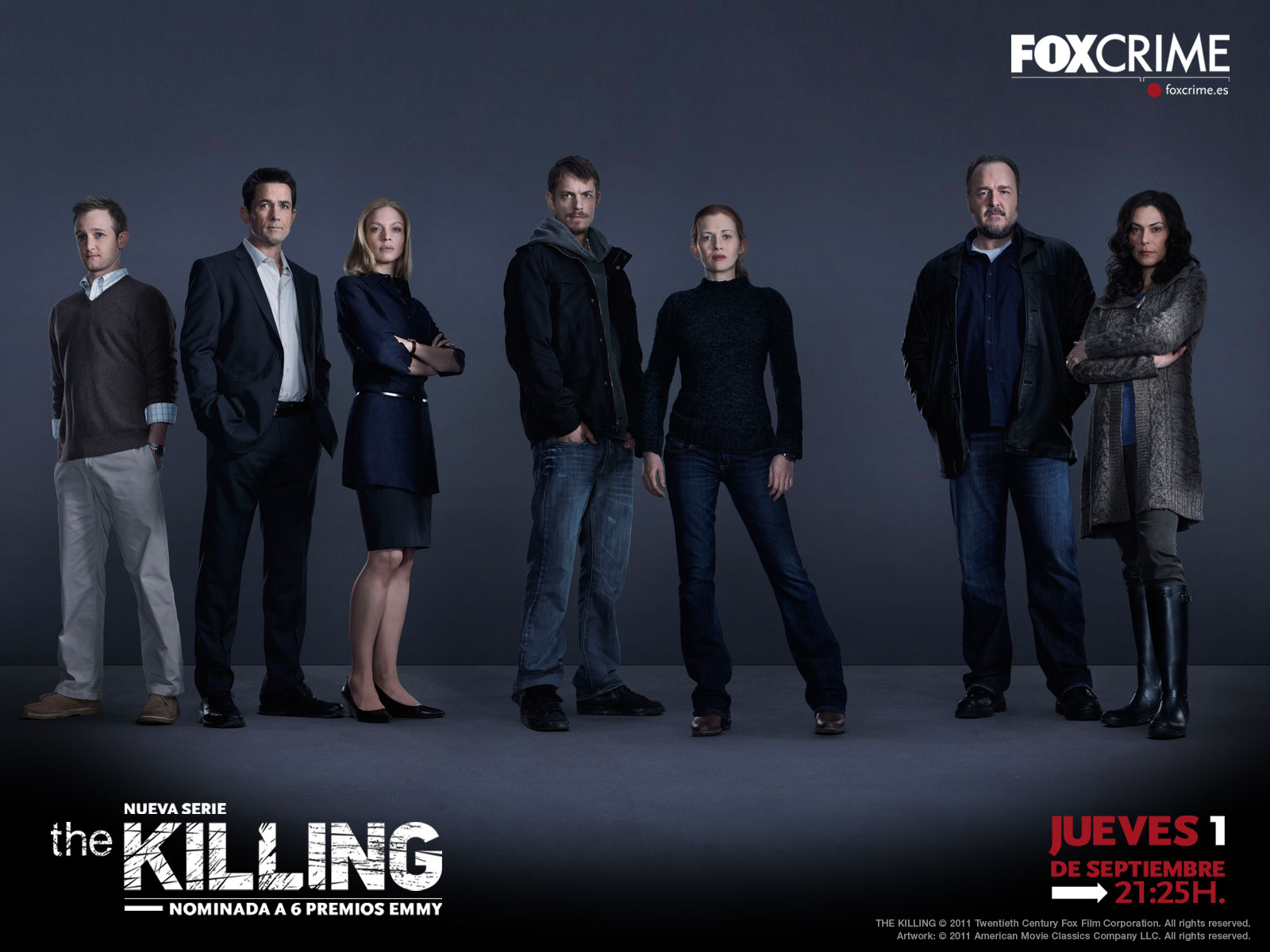 The Killing. Wallpaper  Temporada 1
