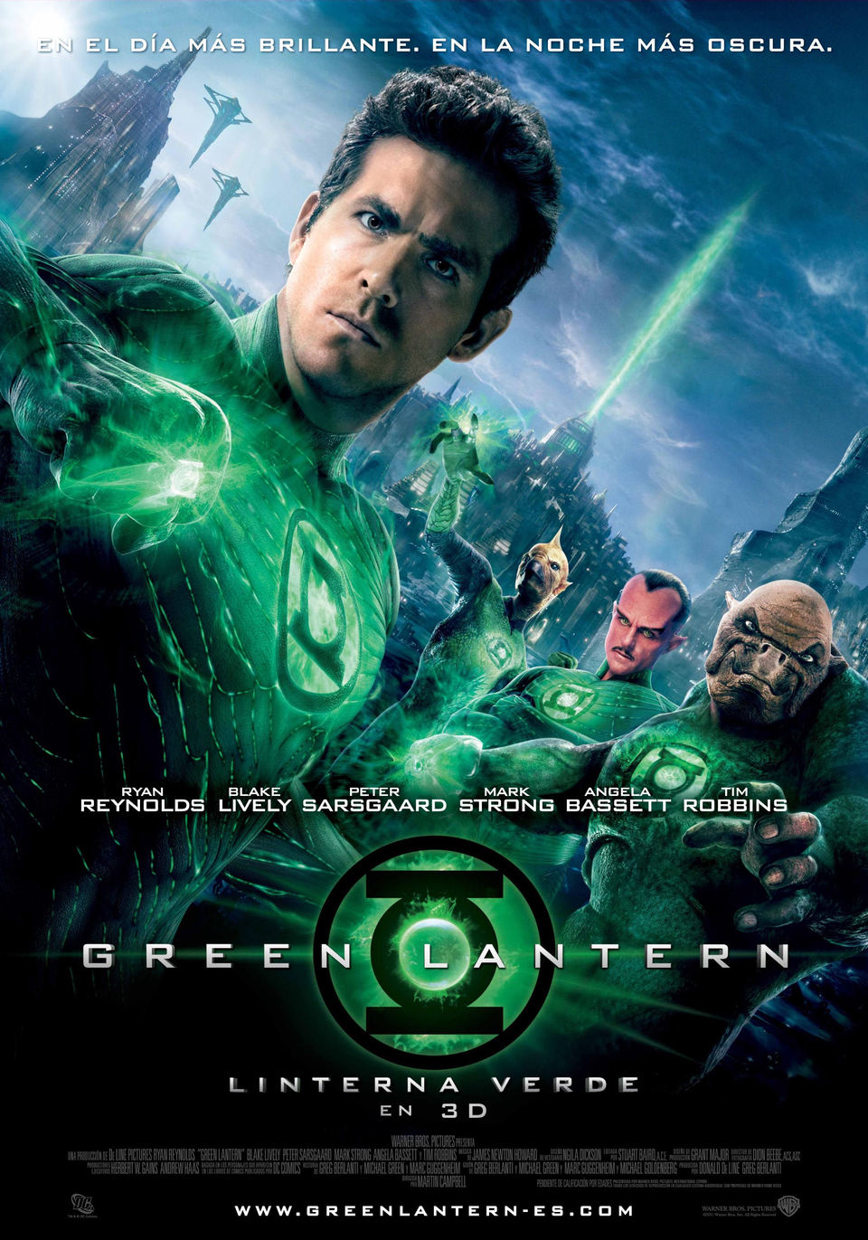 Linterna Verde póster