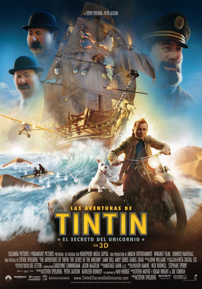 Elsecreto del Unicornio Tintin