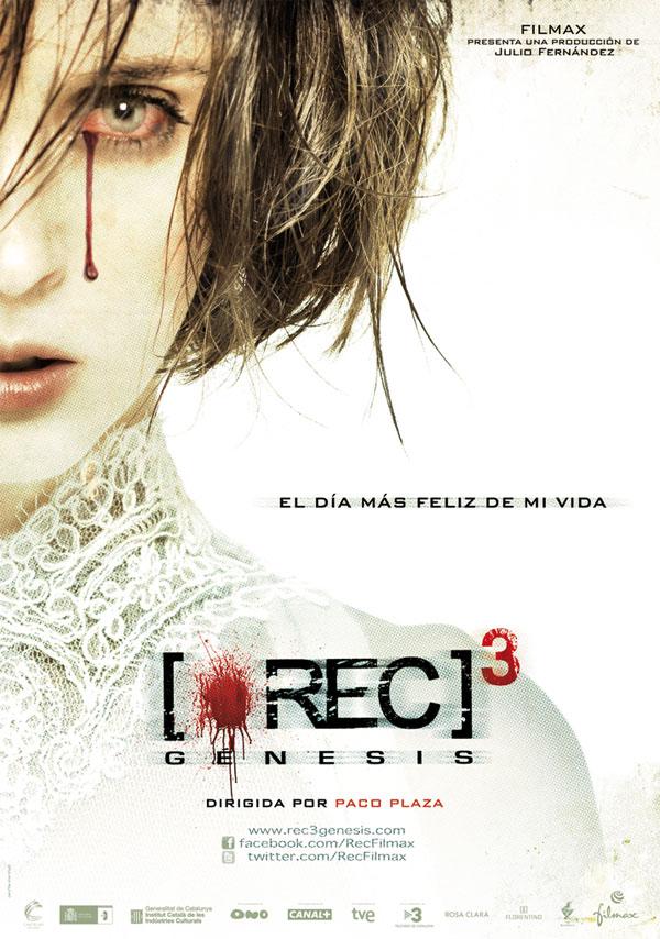 REC 3: Génesis. Cartel de la película de Paco Plaza