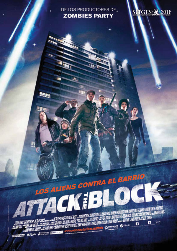 Cartel español de Attack of the Block
