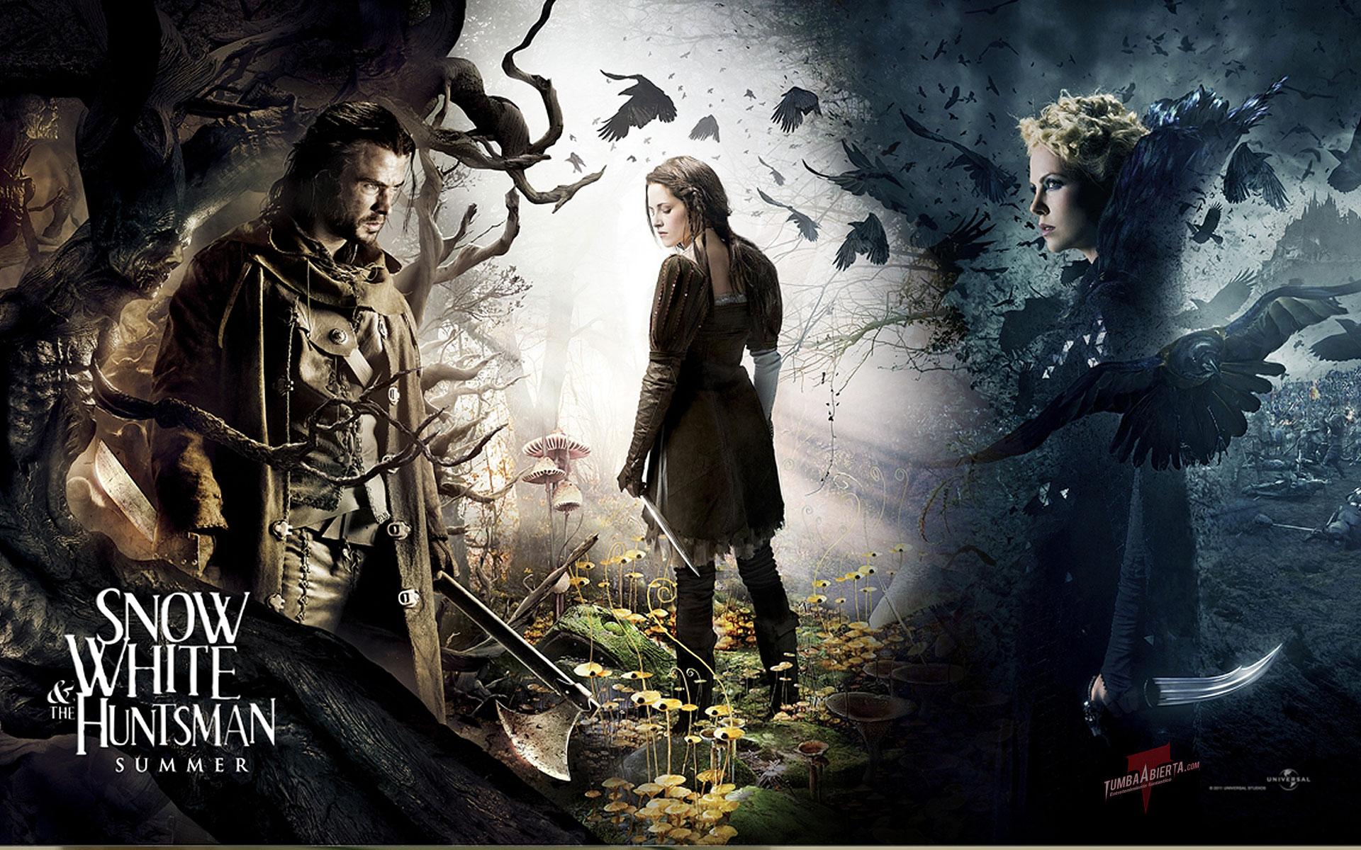 Wallpaper Blancanieves y la leyenda del cazador