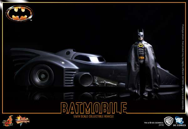 Hot Toys Batmobile 1989