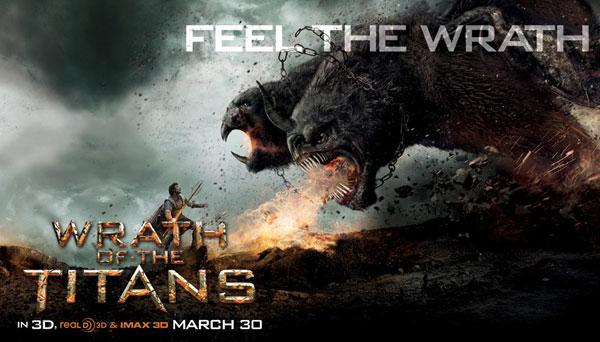 Ira de Titanes 3d Banner