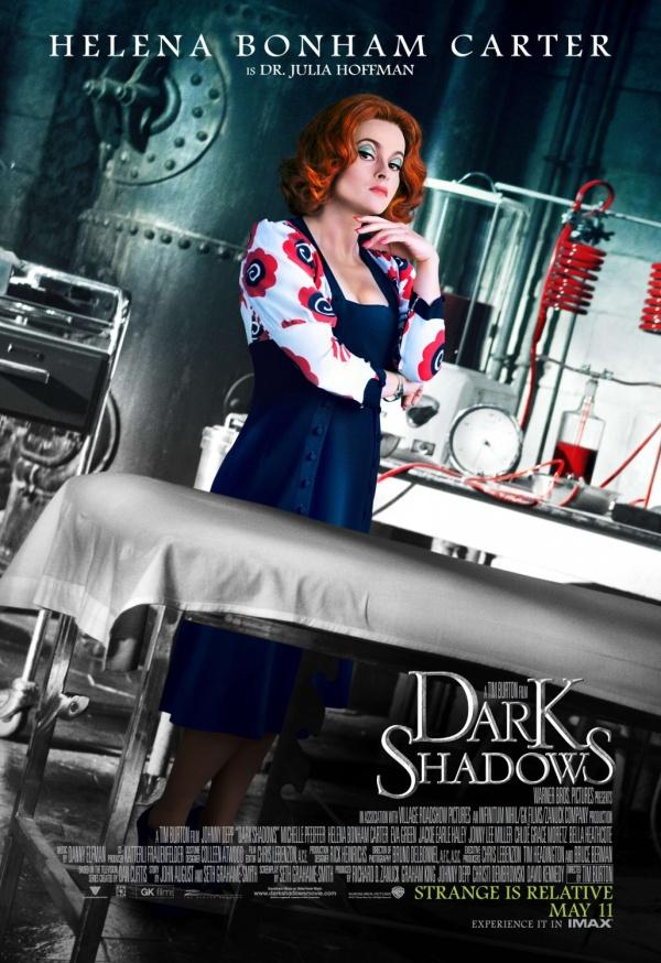 Dark Shadows. Sombras Tenebrosas Carteles