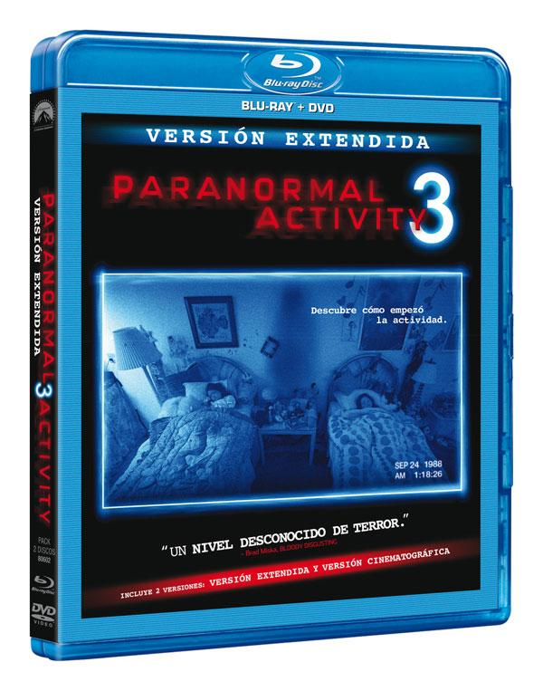 Paranormal Activity 3 Blu Ray