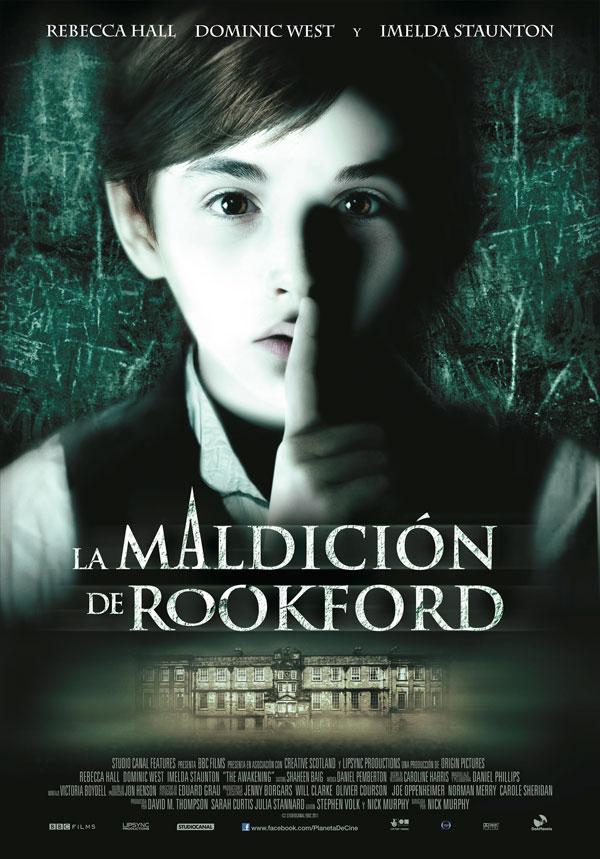 """Cartel """"La maldición de Rookford"""""""