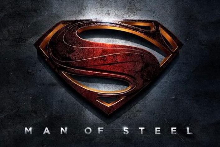 Superman. El hombre de acero logo