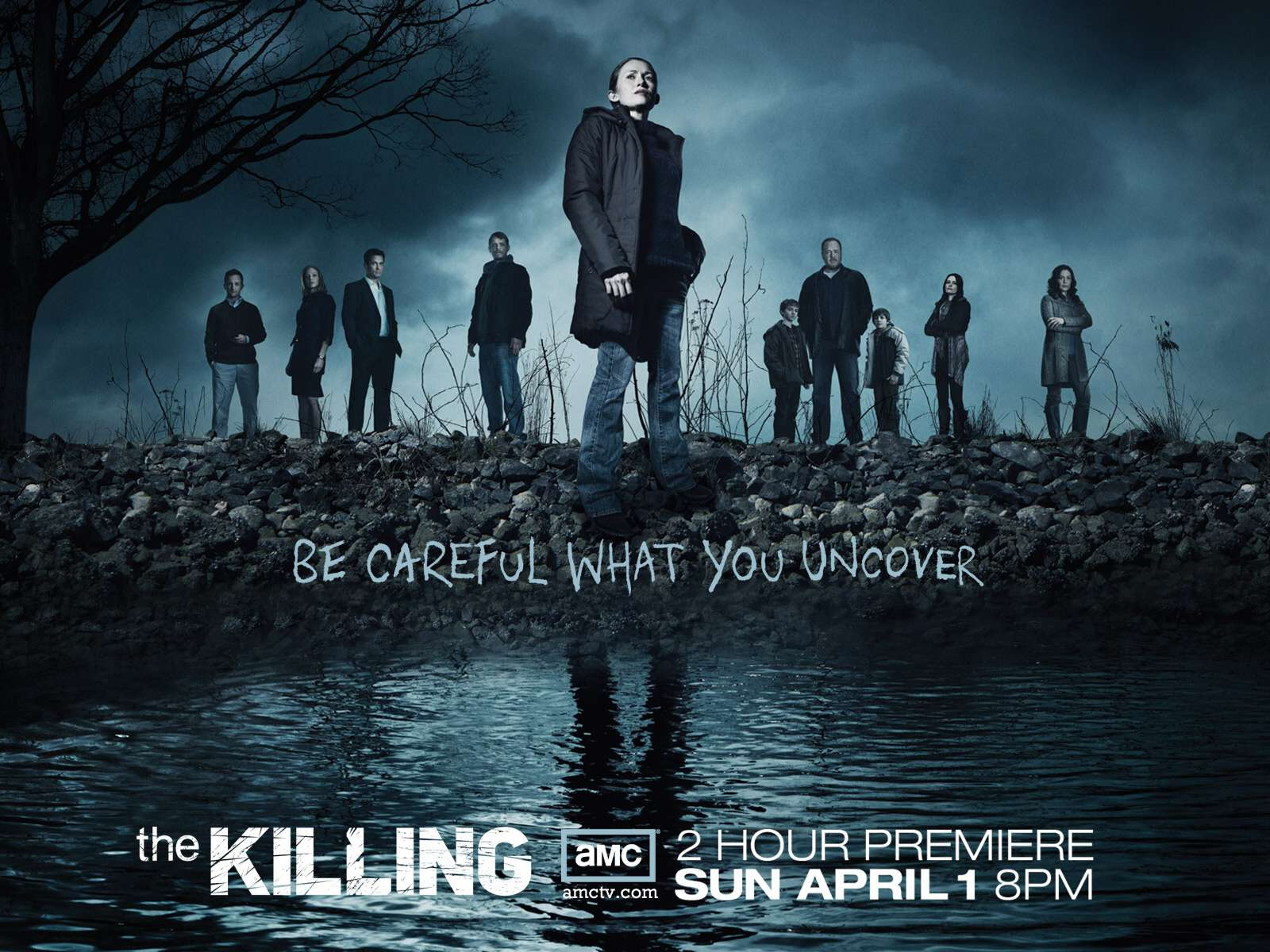Wallpaper The Killing Temporada 2