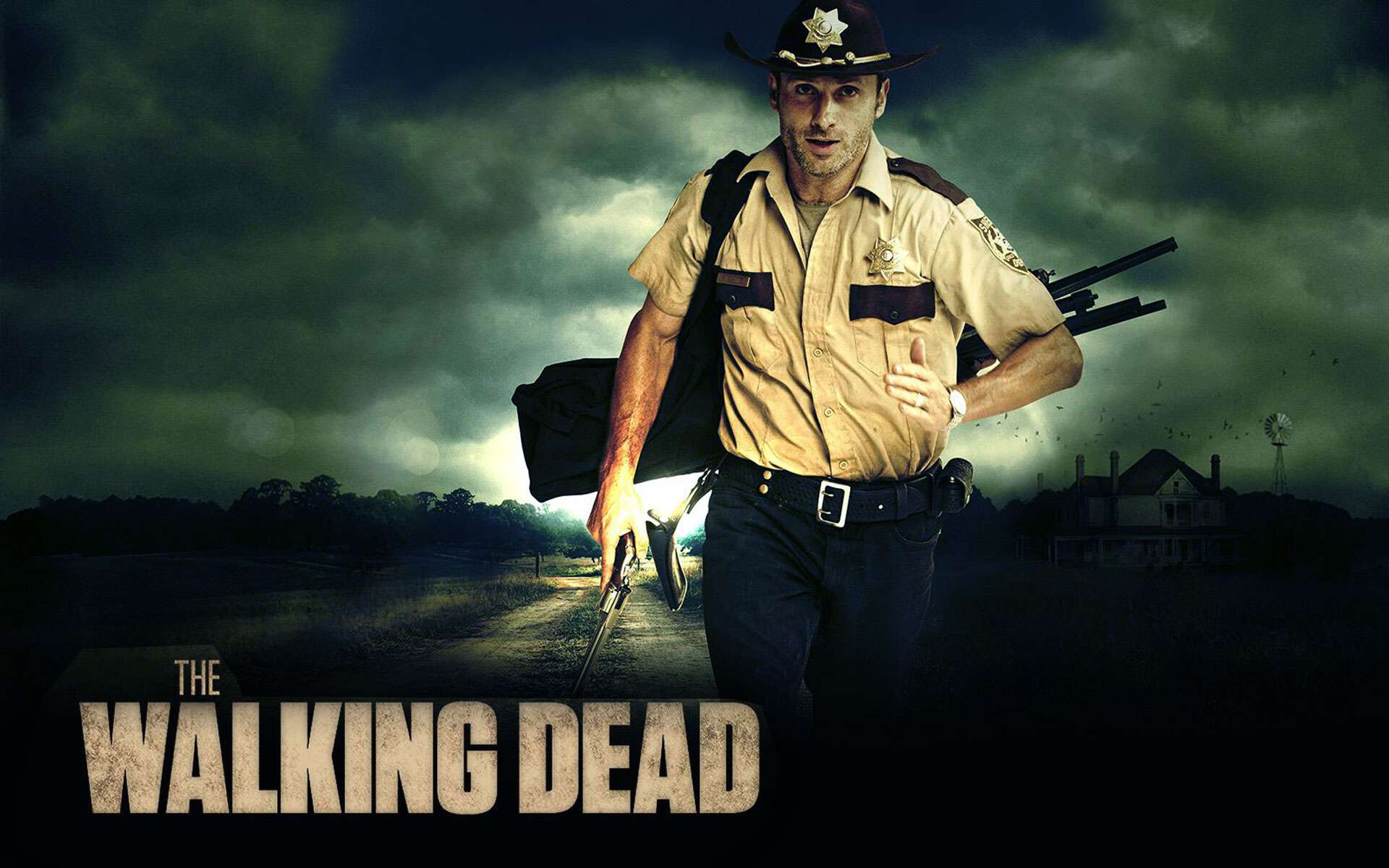 The walking dead. Wallpapers de la segunda temporada