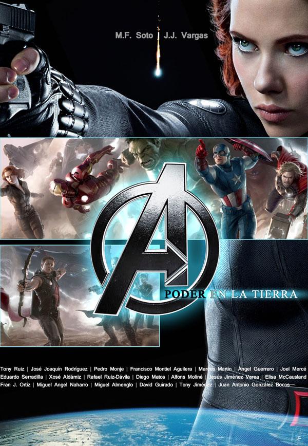 Dolmen. Avengers. Los vengadores: Poder en la Tierra