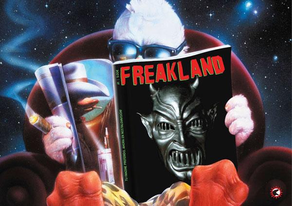 Freakland Fanzine. N1.