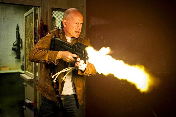 "Bruce Willis en ""Looper"""