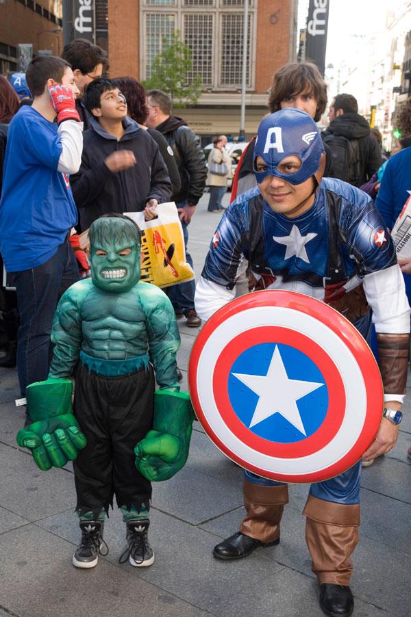 Marvel Los Vengadores. Evento Fan en Madrid.