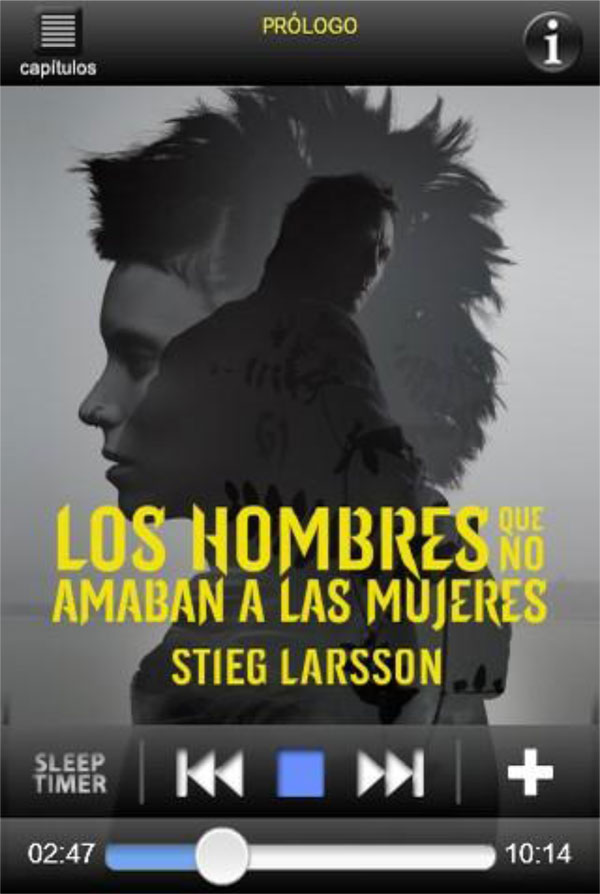 Ediciones Destino: Stieg Larsson Millenium audiobook