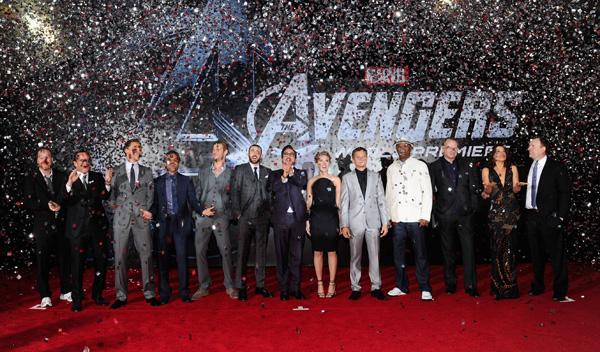 Marvel Los Vengadores. Premiere en Los Angeles
