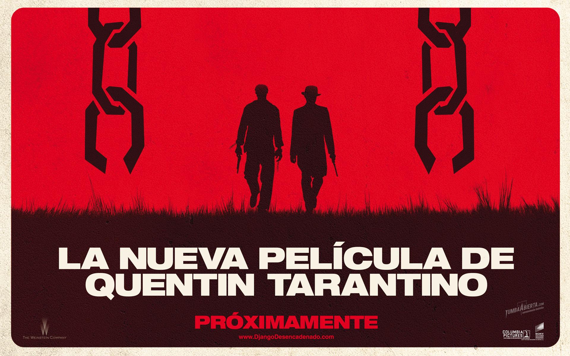 """wallpaper hd """"Django desencadenado"""" (Django unchained) de Quentin Tarantino"""