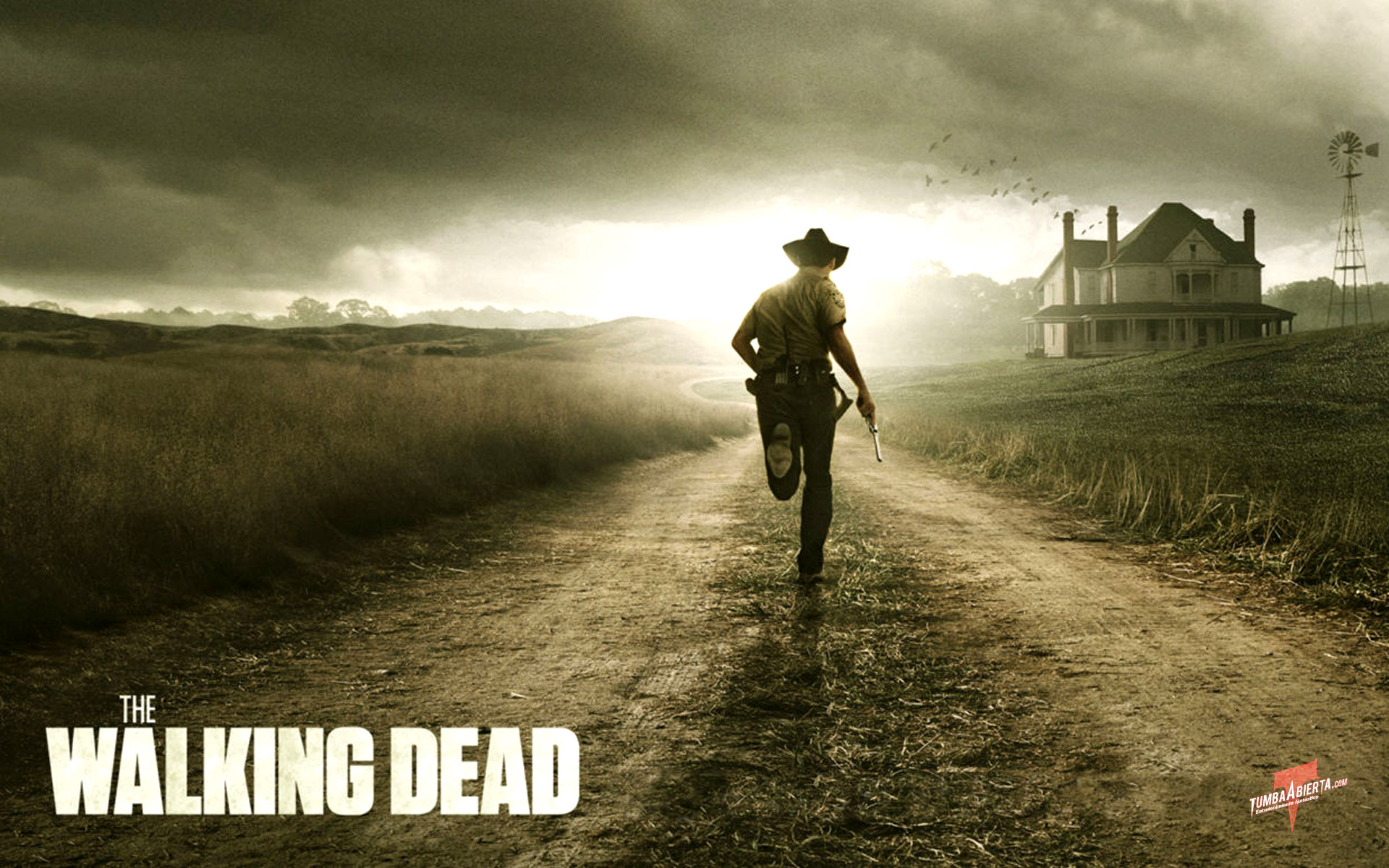 The Walking Dead. Wallpaper