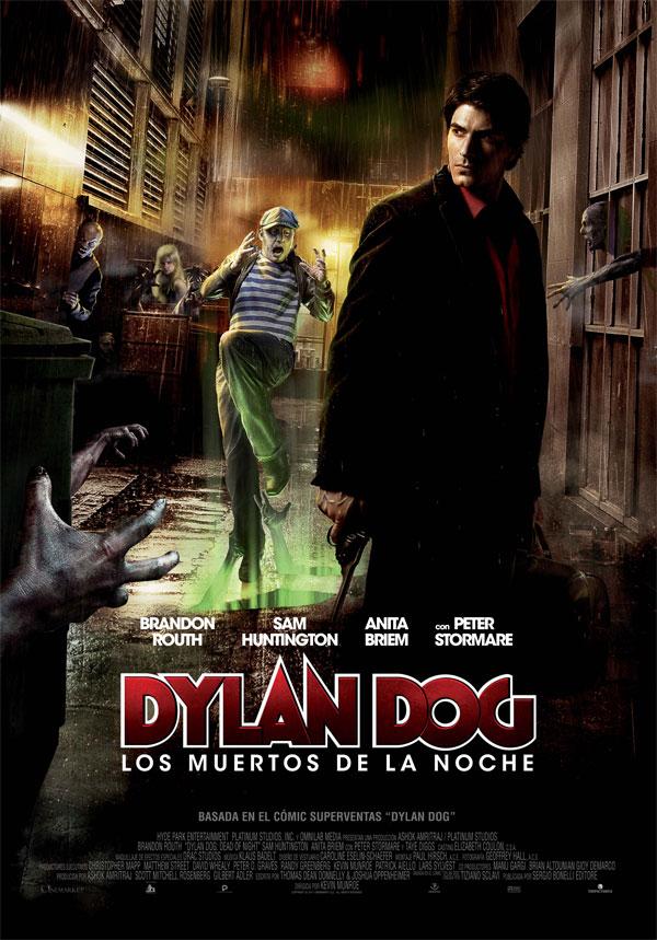 DYLAN DOG: Los muertos de la noche Cartel español