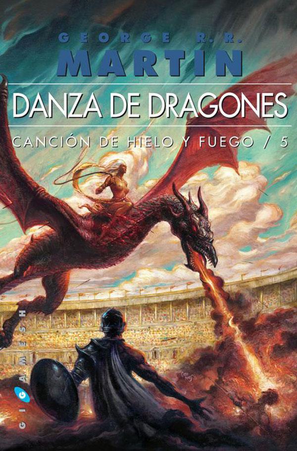 Portada Danza de dragones de la Editorial Gigamesh