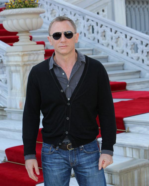 SKYFALL presentación en Estambul. Daniel Craig