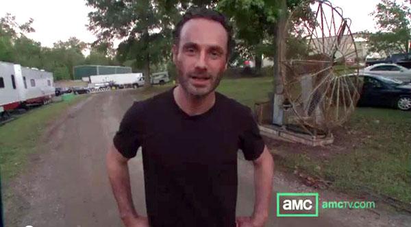 The Walking Dead. Temporada 3. Primer vídeo.