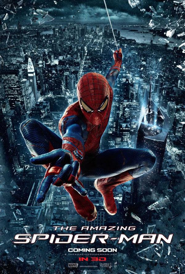 The Amazing Spiderman cartel versión 5