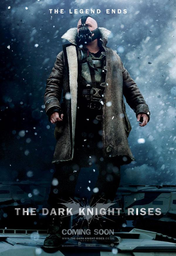 El Caballero oscuro: La leyenda renace. Cartel Bane