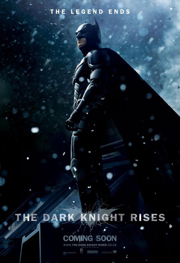 El Caballero oscuro: La leyenda renace. Cartel Batman