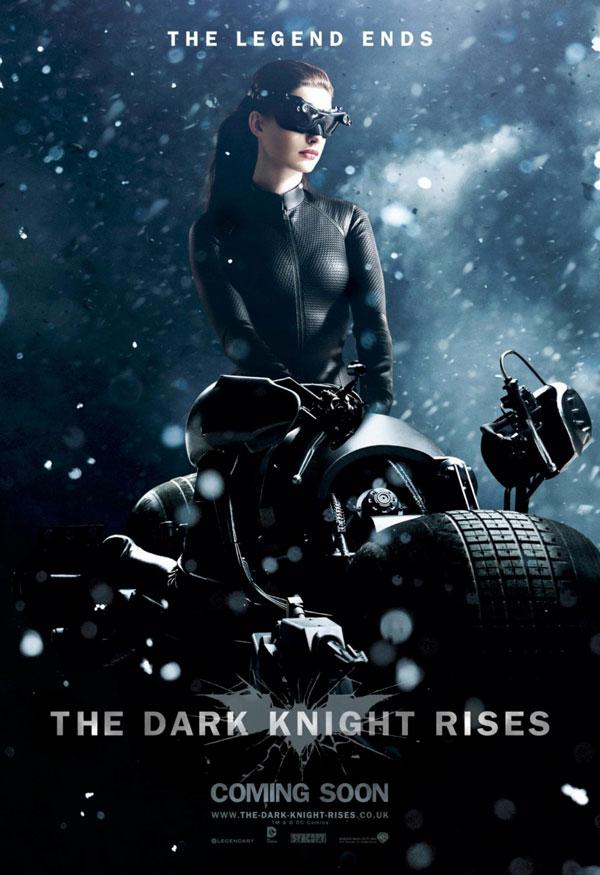 El Caballero oscuro: La leyenda renace. Cartel  Catwoman