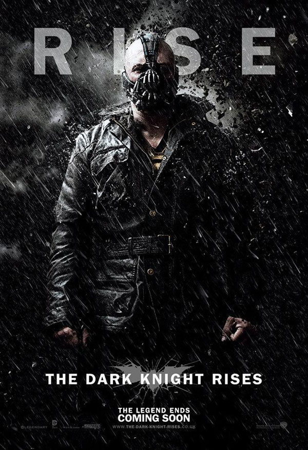 The Dark Knight Rises. Cartel banner Bane
