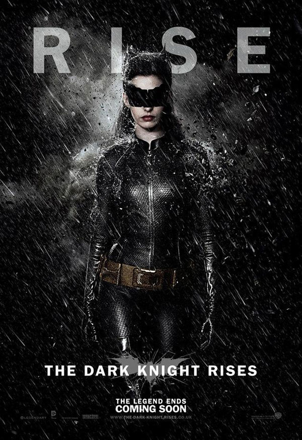 The Dark Knight Rises. Cartel banner Catwoman