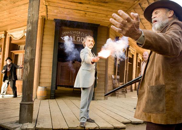 Christoph Waltz en Django desencadenado