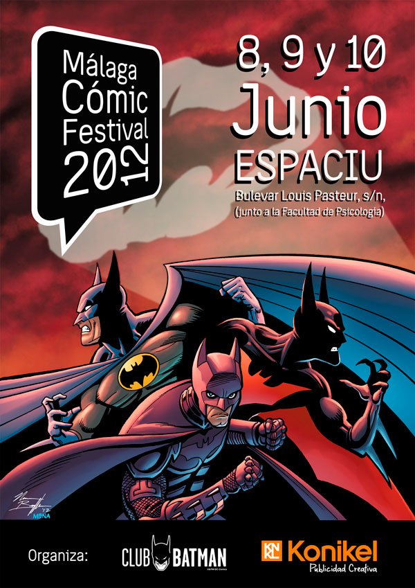 Málaga Comic festival 2012