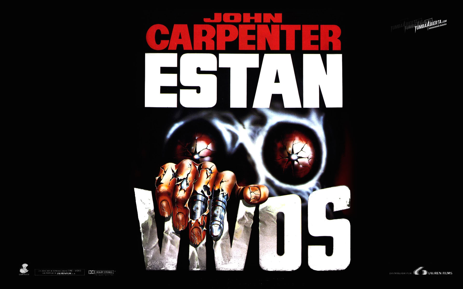 wallpaper hd estan_vivos de john_carpenter en HD