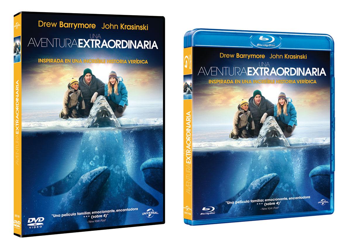 Una aventura extraordinaria en DVD y Blu-Ray