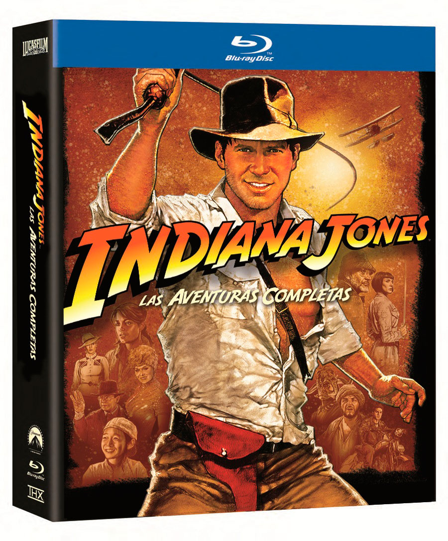 Indiana Jones en Blu-Ray