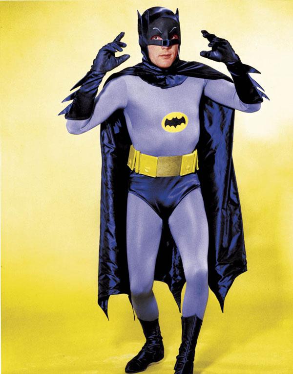 Adam West. Batman