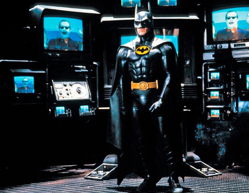 """Michael Keaton en """"Batman"""" de Tim Burton"""