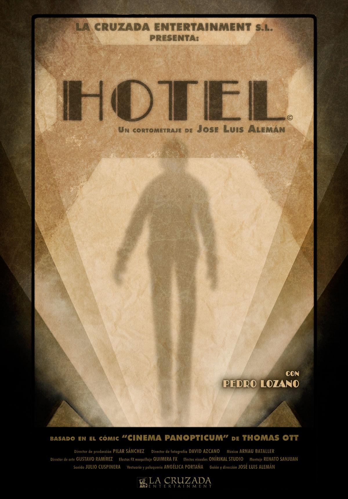Hotel poster de José Luis Alemán