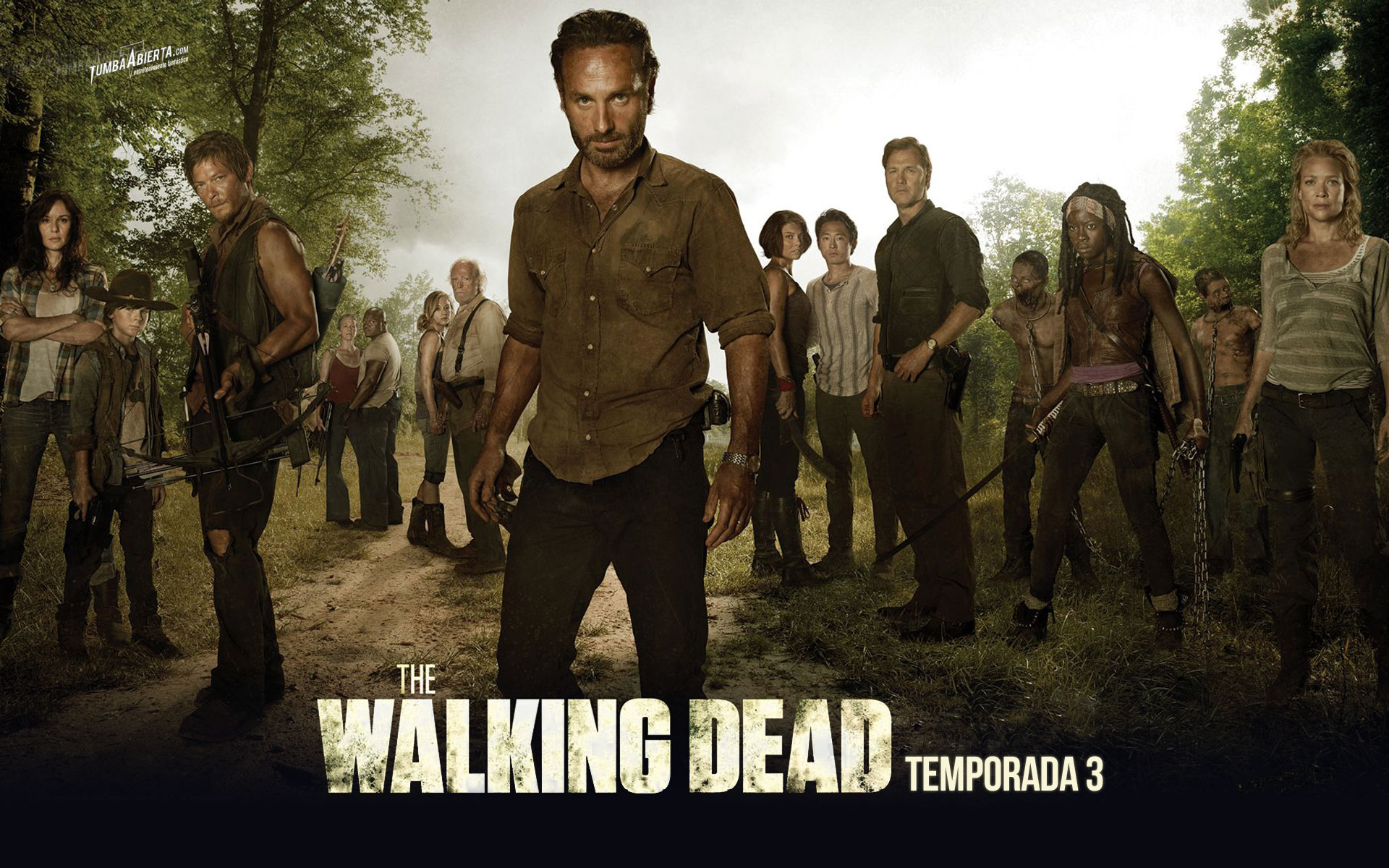 wallpaper The walking dead t3 HD AMC FOX