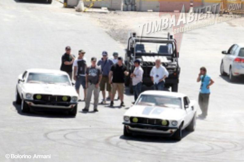 Fast & Furious 6 rodaje en Tenerife. Vin Diesel