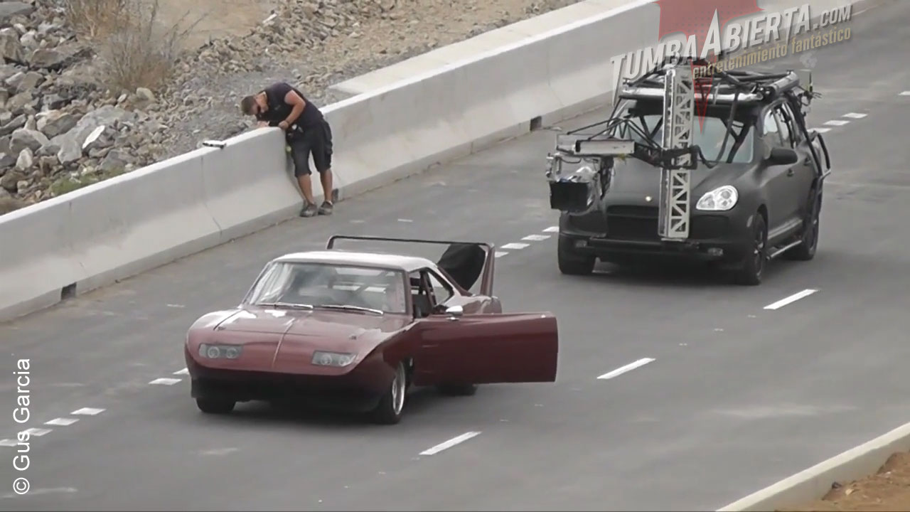 Shooting fast & furious 6 whith stunts in Tenerife