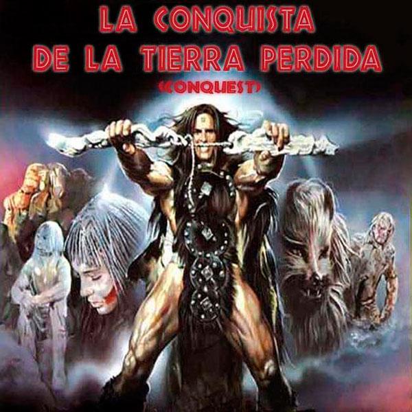 La conquista de la Tierra Perdida en Cine Basura. Canal+ Xtra