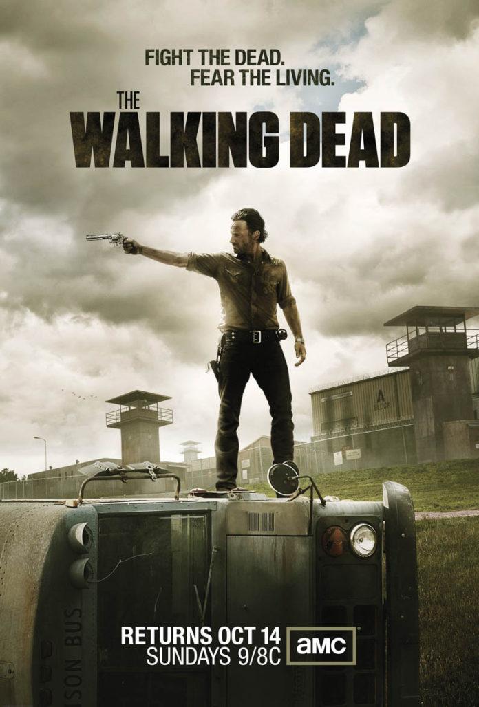 The Walking Dead temporada 3 poster. AMC. FOX