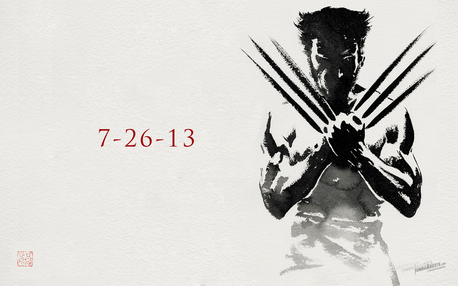 Wallpaper HD The wolverine