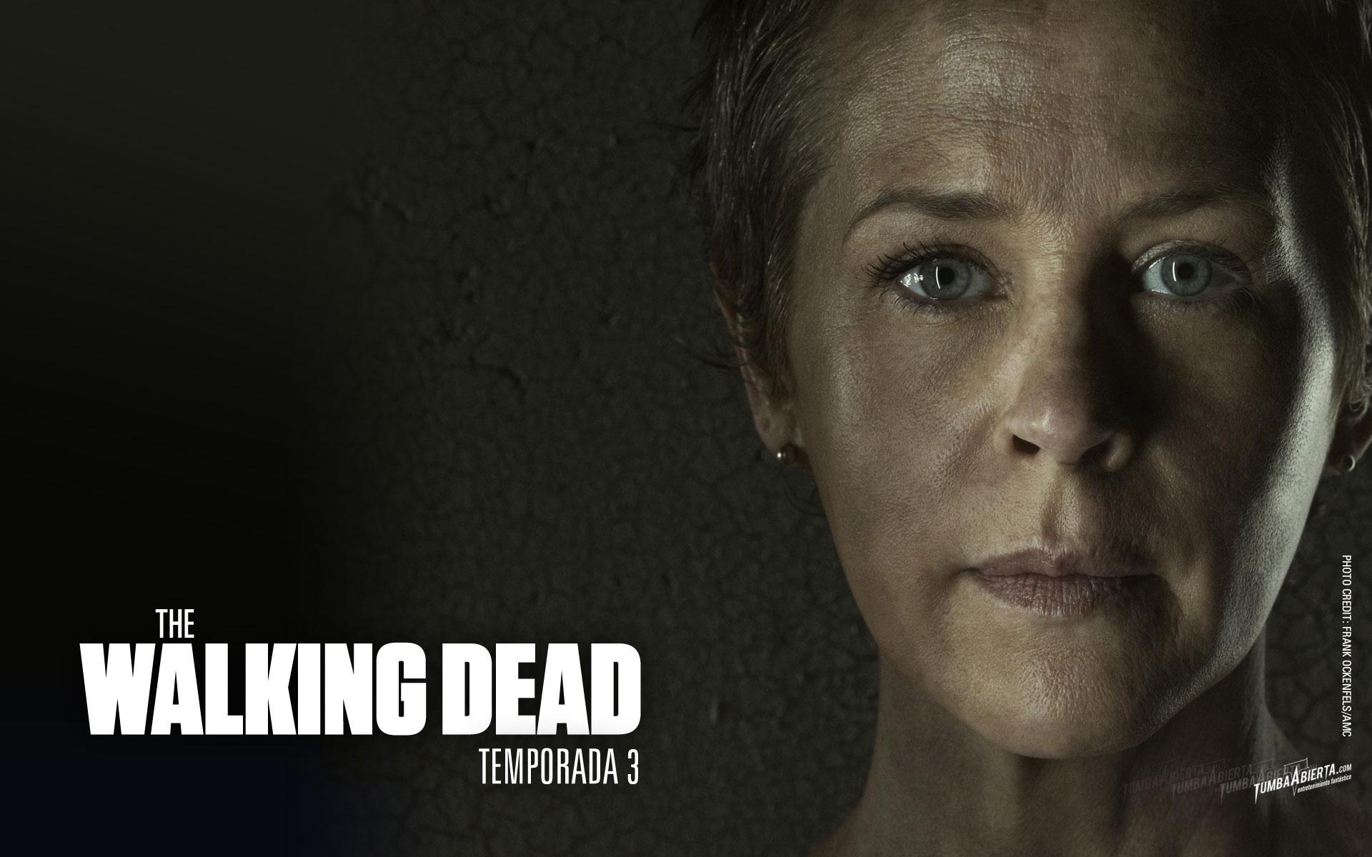 Wallpaper.- The walking dead temporada 3