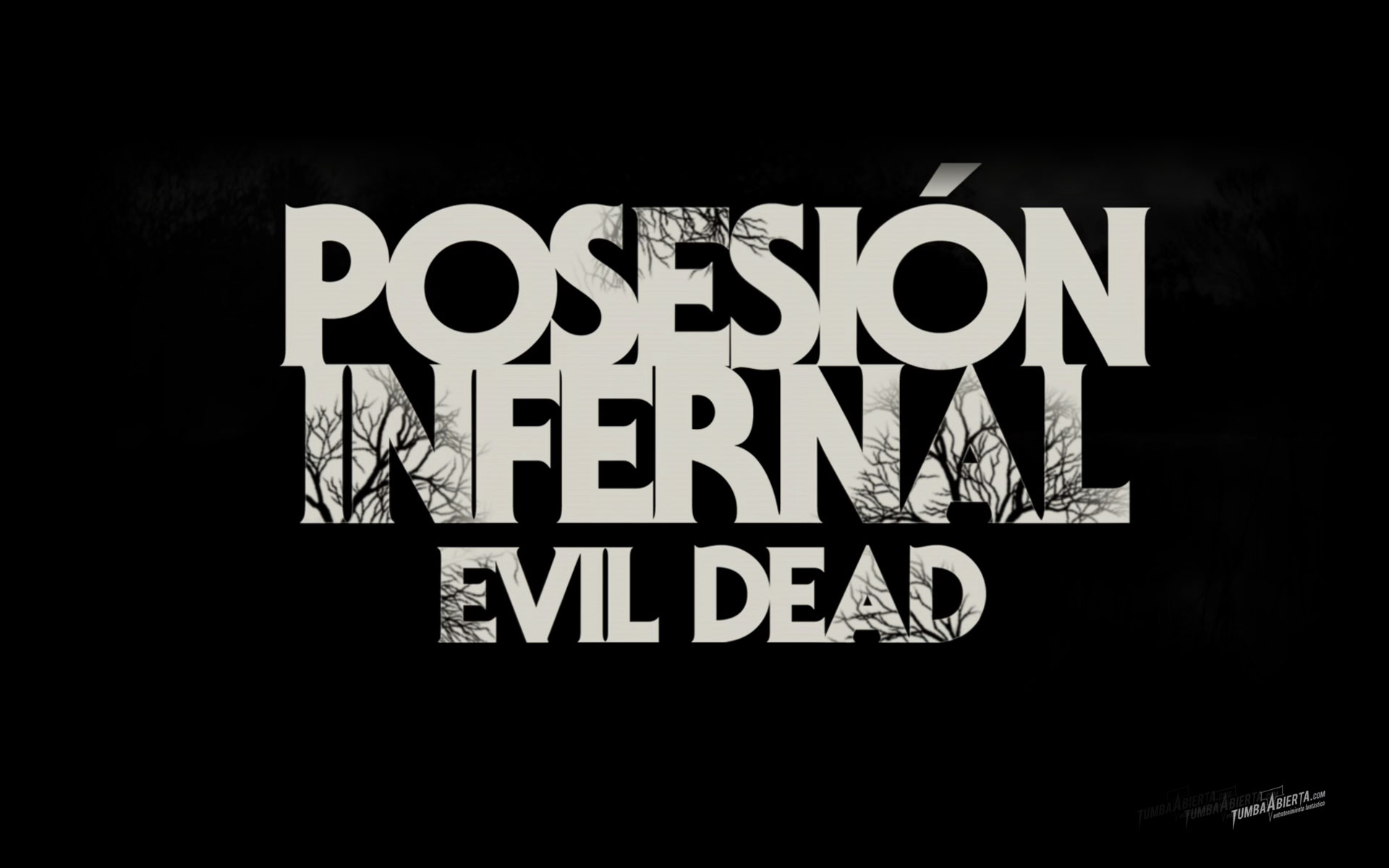 Wallpaper Posesión Infernal - Evil dead